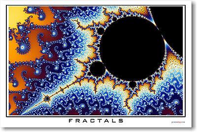 Fractals #3 - Math POSTER