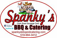 Spanky's BBQ and Catering, sausages and hotdogs