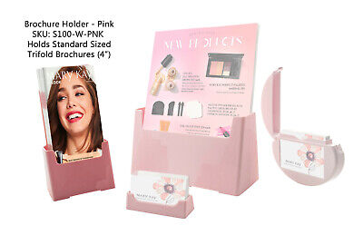 Mary Kay Marketing Starter Kit Pink Brochure Holder Kit Light Pink Displays