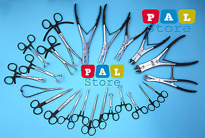 Orthopedic Surgical Veterinary Instruments 23pcs Set Premium Quality Instruments