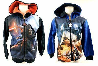 Star Wars Sweatjacke Sweatshirt Fleecejacke Kapuzenpullover 104 116 128 140