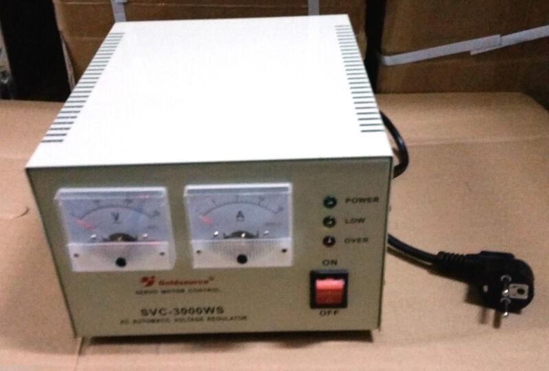 Automatischer Spannungsregler voll Schutz & hohe Präzision 3000VA 160-250V  230v