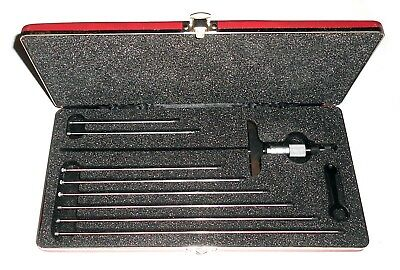 Starrett 445maz-225rl Depth Micrometer-super Clean