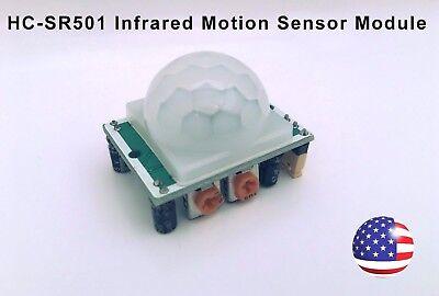 Infrared Motion Sensor Module Pir Pyroelectric Ir Detector - Hc-sr501 New