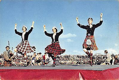 BR87653 highland dancing types folklore costumes scotland