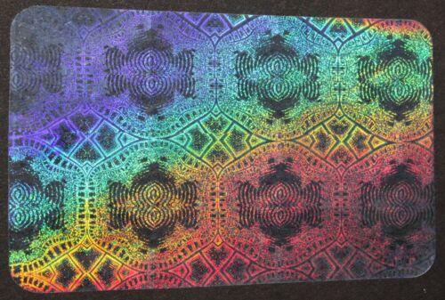 Hologram Overlays Aztec Inkjet Teslin ID Cards - Lot of 100