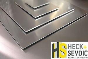 aluminiumblech 2mm rohstoffe materialien ebay. Black Bedroom Furniture Sets. Home Design Ideas