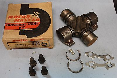 Vintage NOS Motor Master 3031 D Universal Joint 1942 - 1956 Cadillac Olds (251)