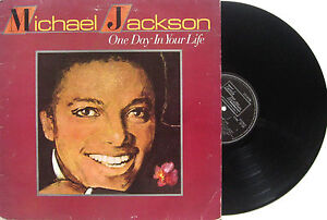 MICHAEL JACKSON LP One Day In Your Life - MOTOWN UK '81