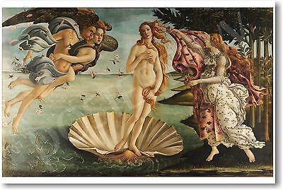 The Birth of Venus - 1486 - Sandro Botticelli - NEW Fine Arts Print POSTER
