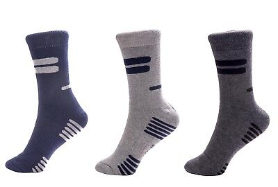 3 X Thermo Socken Warme Dicke Winter Sport Arbeitssocken Herren EU 43-46  Neu