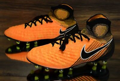 Nike Magista Obra Ii Fg Orange Black 844595 801 Soccer Cleats Mens Multi Size