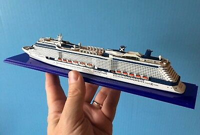 1 1250 Scale Celebrity Equinox Cruise Ship Model Ocean Liner Waterline Boat