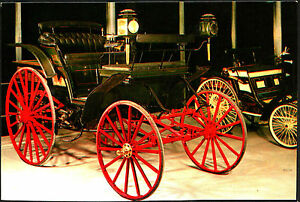 CARTOLINA-BENZ-VICTORIA-1893-MUSEO-DELL-039-AUTOMOBILE-ROTOCALCO-FUMERO