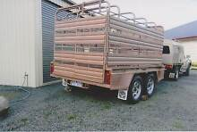 Tandem Heavy Duty Stock Crate & Trailer (as new) Timboon Corangamite Area Preview