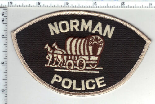 Norman Police (Oklahoma) Shoulder Patch - new from they 1980