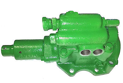 John Deere 50 60 70 520 620 720 Power Steering Worm Control Valve Assembly Rr