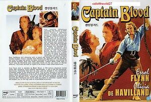 CAPTAIN BLOOD - DVD - ERROL FLYNN - ALL REGIONS
