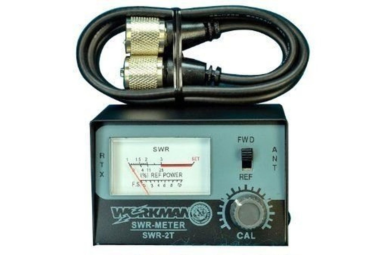 WORKMAN SWR-2T CB RADIO ANTENNA SWR METER & 3` FOOT JUMPER C