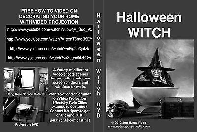 Halloween Projection Window (HALLOWEEN WITCH-HALLOWEEN WINDOW PROJECTION DVD 2012 JON)