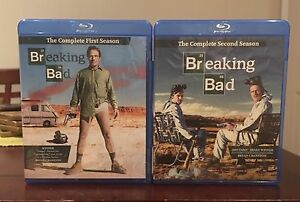 Breaking Bad seasons 1-2 - blu ray