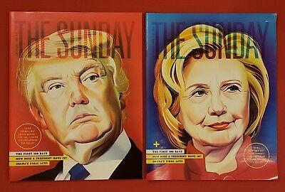 Las Vegas Weekly Magazine Donald Trump Hillary Clinton Election November 2016
