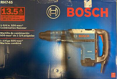 Bosch Rh745 34 Sds-max Combination Rotary Hammer Drill 13.5a New