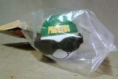 Green Bay Packers Dark Glasses & Reversed Ball Cap  Antenna Topper *Sealed*