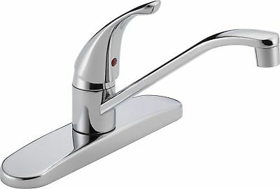 Peerless: P110LF Classic, Single Handle Kitchen Faucet, Chro