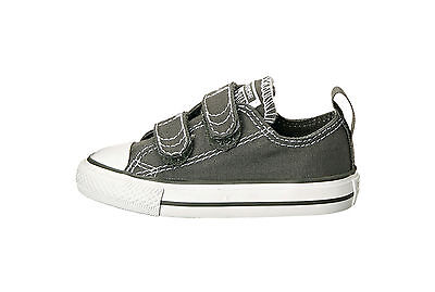 Converse All Star Shoes For Girls (Converse All Star Low Chuck Taylor Infant Toddler Shoes for Girls Charcoal)