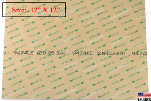 3m 9474le Super Strong Double Sided Adhesive Transfer Tape  12