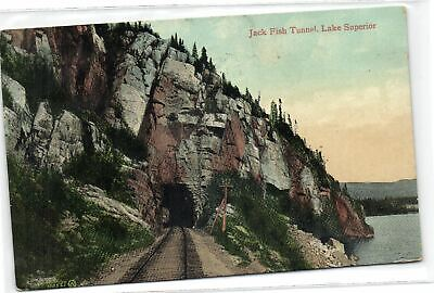 1 Postcard Ontario Jack Fish Tunnel, Lake Superior pcusmix643 for sale  Shipping to Canada