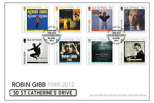 Robin Gibb First Day Cover