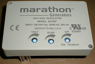 Marathon Electric Replacement Part 761594-01 Generator Voltage Regulator Se-350