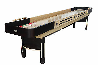 12 Foot Shuffleboard Table ~ The Limited Premier In Espresso By Berner Billiards