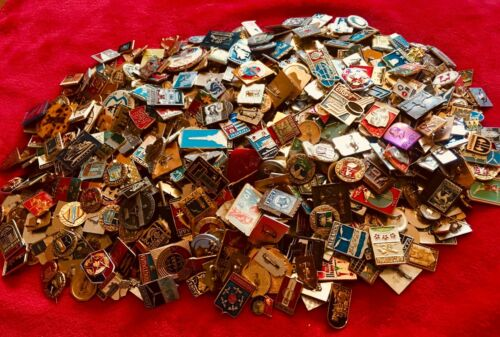 LOT 100 Pin Different UCCR RUSSIA AND COUNTRIES  BIG LOT !!