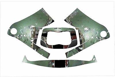 3m Speedglas 9100 Fx Auto Sw Jig Welding Helmet Wrap Decal Sticker Boba Fett