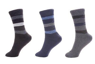 3 X Thermo Socken Warme Dicke Winter Sport Arbeitssocken Herren EU 39-42 - Neu
