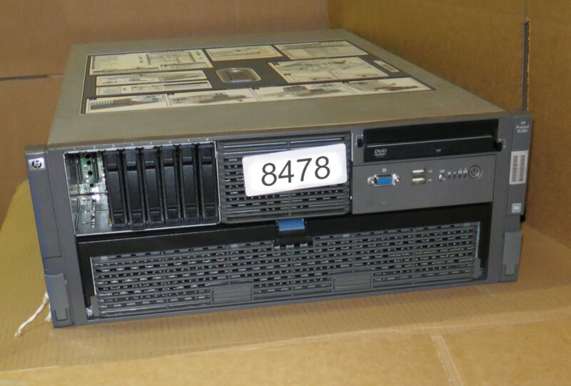 Hp Proliant Dl585 G6 2 X Six-6-core (12 Cores) 2.4ghz 32gb 2u Rack Mount Server