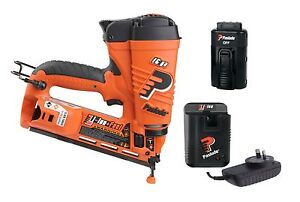 Paslode 902400 AM250ALI 16 Gauge Cordless Lithium Gas Angled Finish Nailer