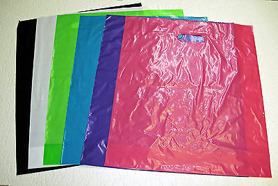 Regular Glossy Low-density Plastic Merchandise Bags U Pick Qty. Color Size