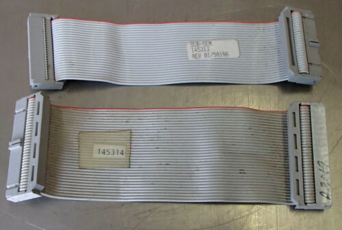 "SUB-SEM RIBBON CABLE 145313 & 145314 5.5"" Mixed Lot of 2 Used"