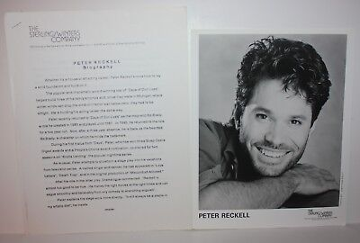 PETER RECKELL Actor Talent Agent Issued Photos and Bio 1990's