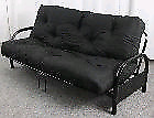 Metal Futon with Cushion - Brand New
