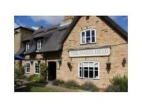 Head Chef Required for our Country Pub/Restaurant in Cambridgeshire