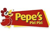 Staff Required For CustomerServices/Cashiers/Drivers/KitchenStaff/Grillers(PEPES PIRI PIRI ,WATFORD)