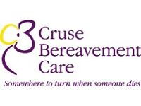 CRUSE BEREAVEMENT CARE - BEREAVEMENT VOLUNTEER TRAINING FOR WESTON SUPER MARE & BRISTOL