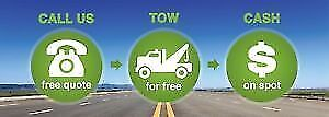 Scrap Junk Cars/Vehicles Removal-Cash $$$ On The Spot/Free Tow