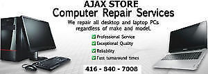 LAPTOP REPAIR - WE FIX ANY ISSUE ON ANY MODEL - AJAX STORE