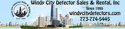 Windy City Detector Sales Rental